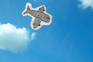http://www.dreamstime.com/royalty-free-stock-image-hand-drawn-plane-sky-flying-image31652006