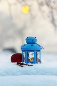 http://www.dreamstime.com/stock-image-blue-lantern-winter-scenery-time-image39963371